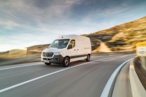 TDX Logistics delivery van 1